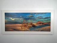 "Beach Dunes by the Sea 54"" x 26"""