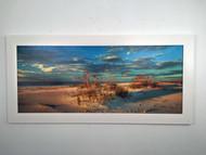 "Beach Dunes by the Sea 54"" x 26"""