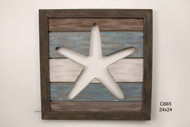 Cutout Slatwood Panel  Starfish