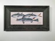 """Jacks and Trout Framed Artwork 12 x 19"""""""