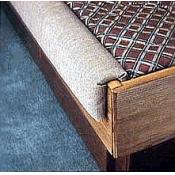 2 piece jumbo padded rails