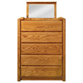 Marathon Lift Top 5-Drawer High Chest