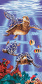 Sea Turtles Beach Towel (30x60)