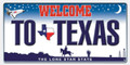 Texas Plate Beach Towel (30 x 60)
