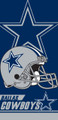 Dallas Cowboys Beach Towel (28x58)