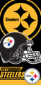 Pittsburgh Steelers Beach Towel (28x58)
