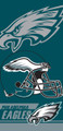 Philadelphia Eagles Beach Towel (28x58)