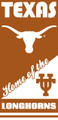 Texas Longhorns Beach Towel (28x58)