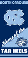 North Carolina Tar Heels Beach Towel (28x58)