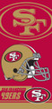 San Francisco 49ers Towel (28x58)