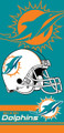 Miami Dolphins Beach Towel (28x58)