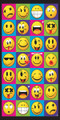 Smiley Faces Beach Towel (30x60)