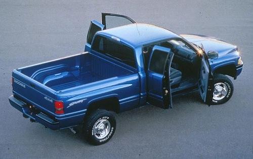 Dodge Ram Dual exhaust 1994-1998