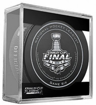 NHL Licensed Official Game Puck From the 2015 Stanley Cup Finals, GAME SIX