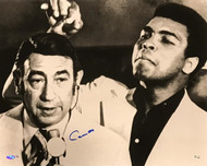 Howard Cosell was the top sports-journalist/sports-caster/sports-announcer of his generation and Muhammad Ali was the greatest boxer of his generation. Howard Cosell and Muhammad Ali had an unusually contentious and playful relationship.