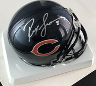 Signed by Chicago Bears Quarterback (2003-2008) Rex Grossman.