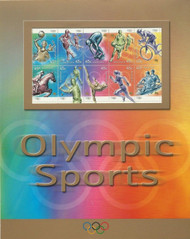 Australian Postage Stamp Olympic Sports Sheet MNH