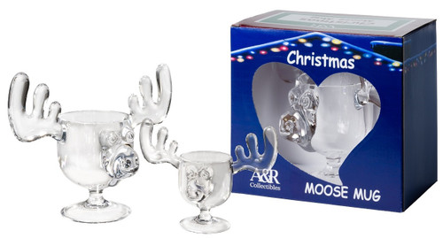 Holiday Special Combo Pack - Includes one 8 ounce Moose Mug with one 2 ounce Moose Shot Glass.