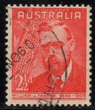 Australia Scott #213-14, 1948 Complete Set of 2 Used