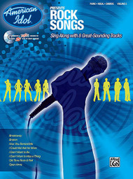Sing along with your favorite American Idol hits! Each songbook provides the lyrics, music notation, and chords to 8 great hits, along with lyrics-only pages.
