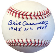 "If someone were to have been named ""Mr. Cub"" for the 1940's, that player would undoubtedly be Phil Cavarretta."