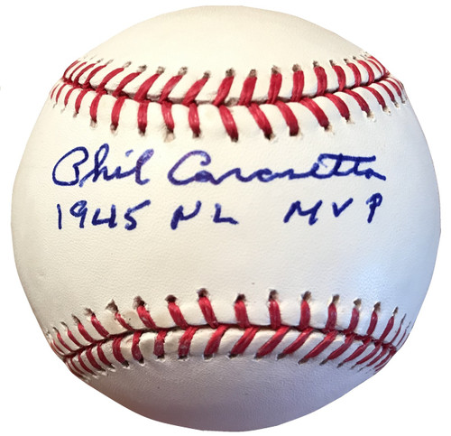 """If someone were to have been named """"Mr. Cub"""" for the 1940's, that player would undoubtedly be Phil Cavarretta."""