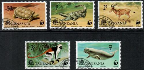 Set of 5 beautiful stamps.