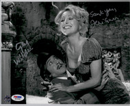 Gene Wilder and Teri Garr Dual Signed Young Frankenstein Knockers Movie Photo