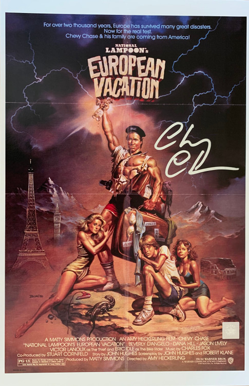 European Vacation (originally given the working title Vacation '2' Europe) is a 1985 comedy film. The second film in National Lampoon's Vacation film series, it was directed by Amy Heckerling and stars Chevy Chase and Beverly D'Angelo.