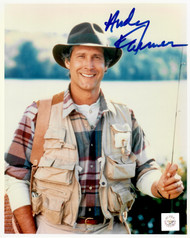 A signing with Chevy is always full of surprises......  Photo includes Superstar Greetings Certificate of Authenticity and Chevy Chase signing photo.