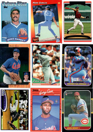 Lot includes nine (9) cards.  Buyer will receive actual cards shown in our image.