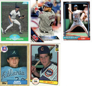 Lot includes five (5) cards.  Buyer will receive actual cards shown in our image.