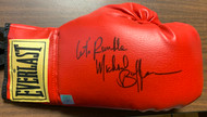 """Michael Buffer signed, authenticated Everlast Boxing Glove. Includes """"Let's Rumble"""" inscription. The image(s) of the signed item is for the EXACT item you will receive."""