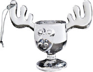 This miniature moose mug ornament includes the same fine details that you find on our full size Moose Mugs.