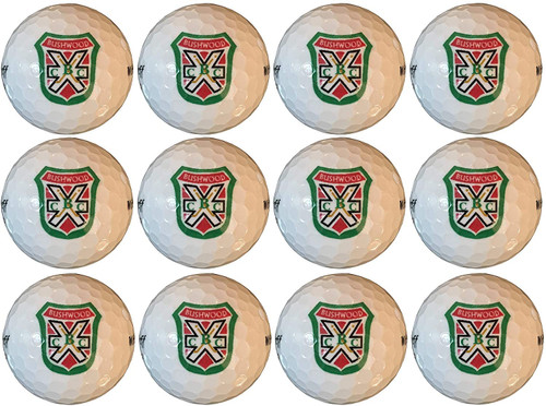 FORE!! ....Get ready to tee off with these custom Bushwood Country Club golf balls. Golf balls from a golf course that does not even exist!! Yes that's right, the Bushwood Country Club logo has been custom designed on these Wilson golf balls.