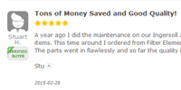 Filter Element Store Review