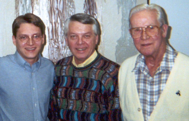 Kevin, Darrell and Bob circa 1991. (Nice Pants Darrell)