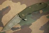 """Hinderer Custom XM-18 3-1/2"""" Hellfire """"Battlefield Pickup"""""""