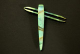 Jeff Halopoff Green/Gold V1 Custom Titanium Tweezers  **FREE SHIPPING**