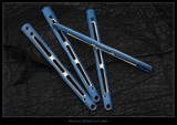 "BM51-Ti ""Gunner Grip"" Scales 2-Tone Blue/Satin"