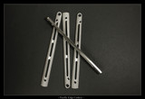 "BM6X Series Ti Handles--""Gunner Grip"" Polished With Satin Flute/Sides **FREE SHIPPING"