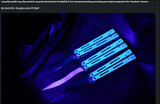 Hom-Design Basilisk-R Balisong W/Bone Linen Micarta