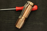 "Notta Design ""Beam"" Custom 'Copper' Flashlight"