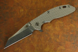 "XM-18 3-1/2"" Wharncliffe Flipper With Textured Ti Scale"