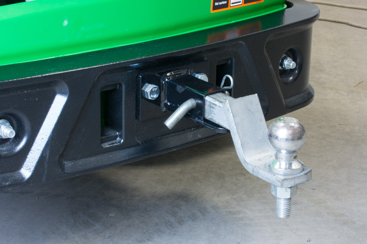 Lawn Tractor Hitch Receiver : Trailer hitch for john deere zero turn mowers ztr hitches