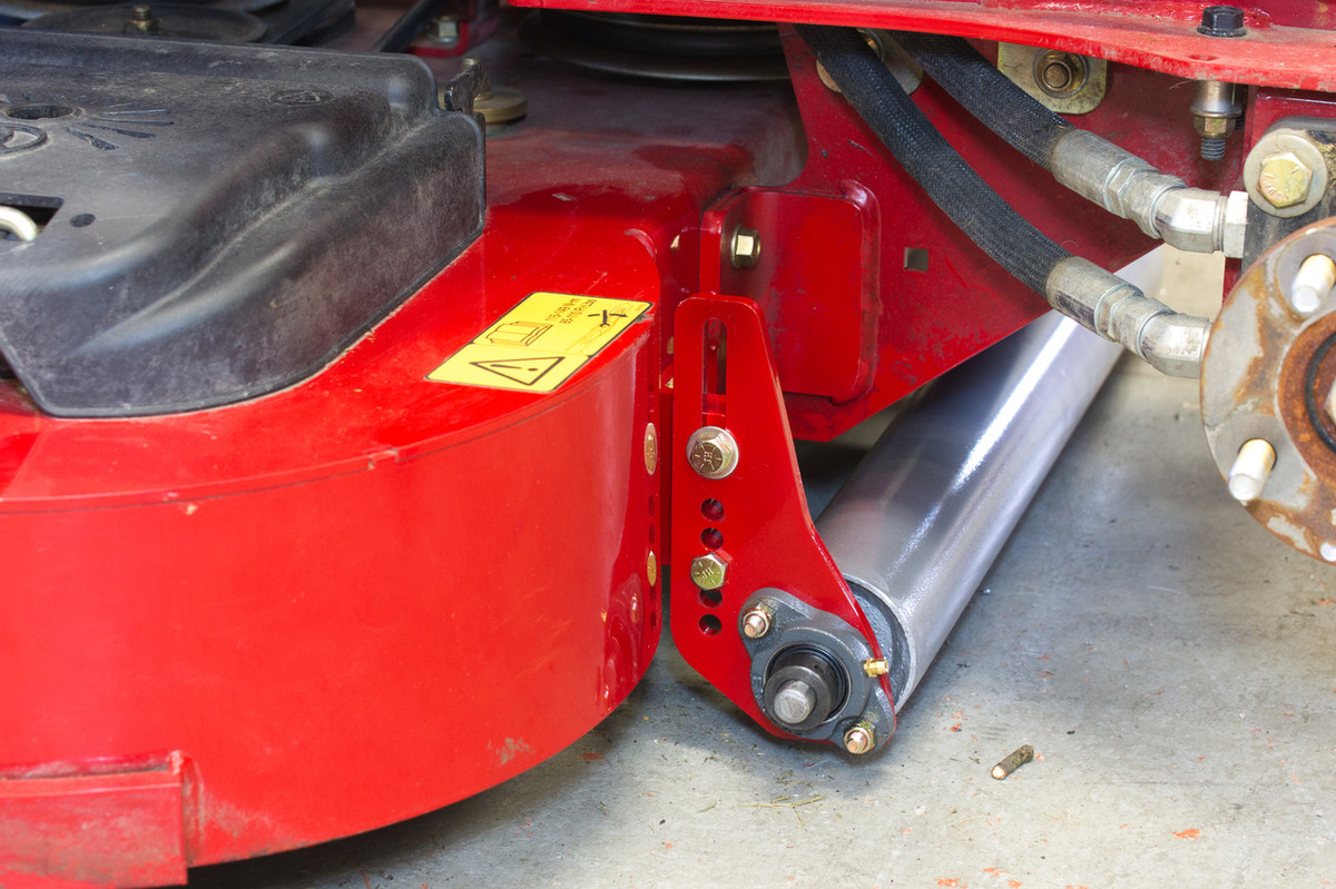 how to put turbo on lawn mower