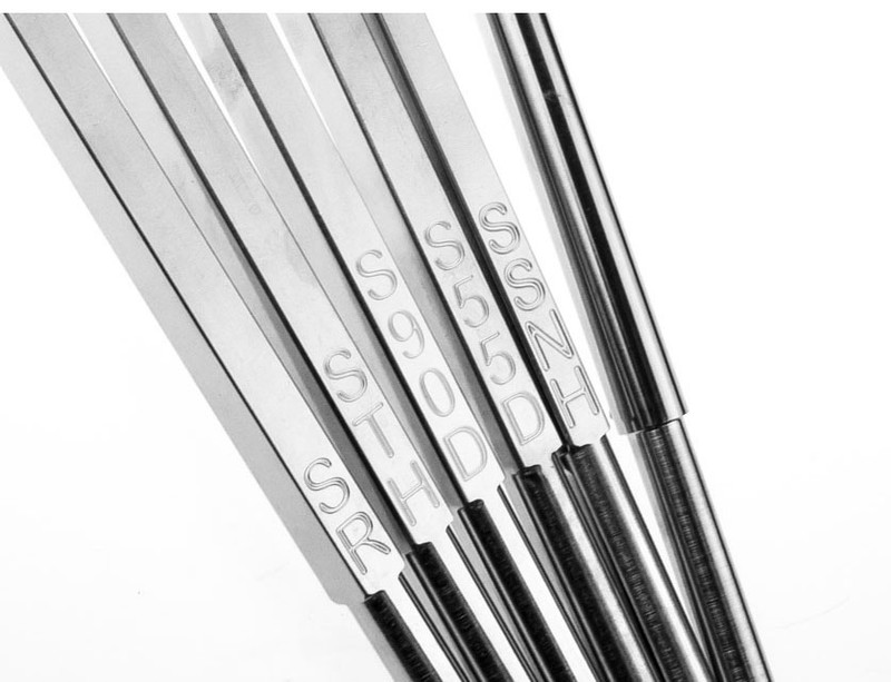 Package of 6 Carbide Woodturning Tools with Interchangeable Handle