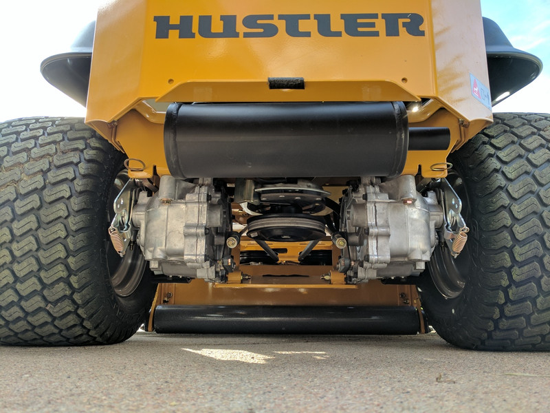 "Lawn Striper for Hustler Raptor SDX with 54"" mower deck, model year 2017"