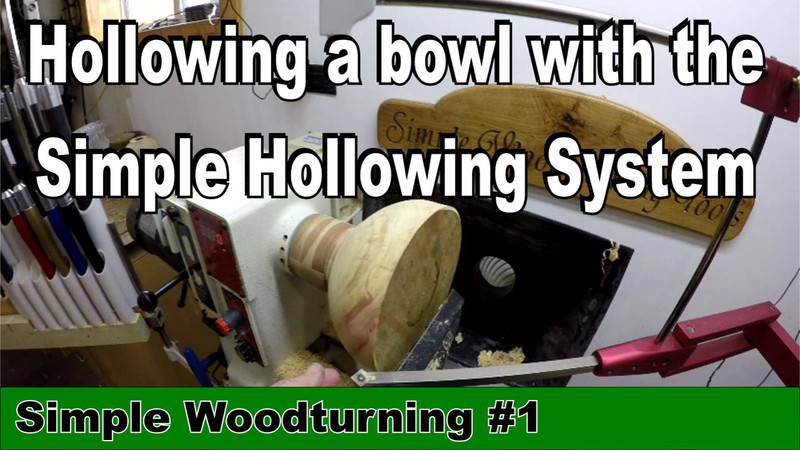 Simple Woodturning Video #1