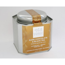 Tea Tonic Dark Choc & Black Tea Caddy Tin 250g